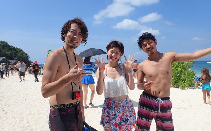 プーケット3日目、ピピ島DAY♪♪